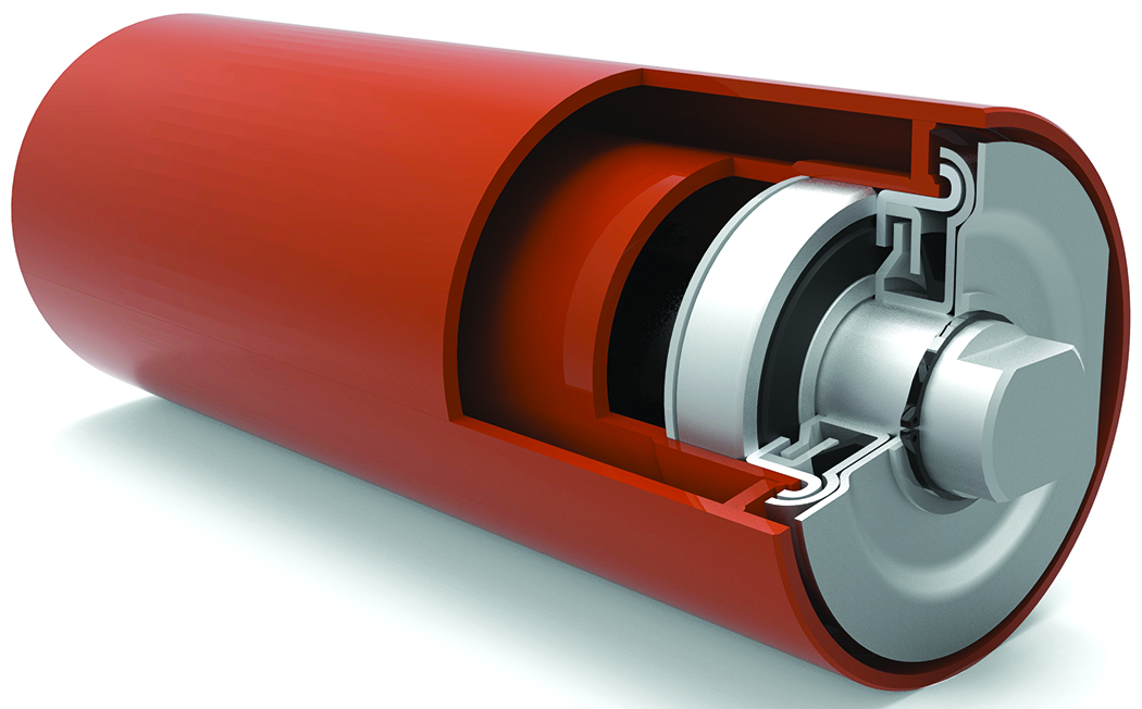 Superior's Double Tube Roll construction gives the idler increased rigidity for higher load ratings.