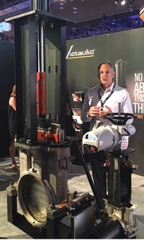 Victaulic's new Knife Gate Valve is claimed to be the first knife gate valve that can be rebuilt while still connected.