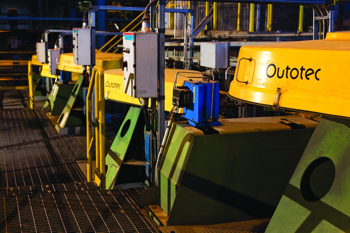 sb OTE concentrator plant flotation 0163
