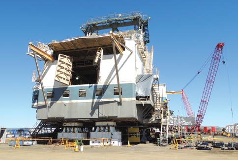 BMT WBM offers a recent example where RCM principles were employed to significantly improve reliability on a Marion 8200 dragline; the solution involved a substantial revolving frame floor upgrade that required a design approach aimed at eliminating ongoing structural cracking issues.