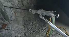 Boart Longyear claims its S250-M3 drill produces less noise and vibration.