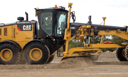 Upgraded Mine-duty Grader Has Many Improvements
