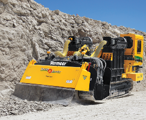 Terrain Leveler Enables Precise Mining With Uniform Fragment Size