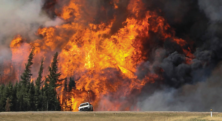 The speed with which the wildfires swept across northern Alberta in early May was matched only by the authorities' response in ordering the evacuation of nearly 90,000 people. Remarkably, the oil sands industry survived relatively unscathed, with production back on stream later in the month.