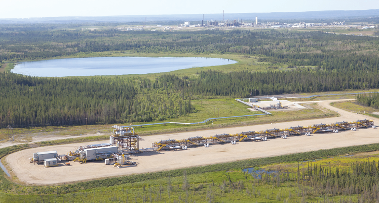 CNOOC subsidiary Nexen's Long Lake in-situ operation, where the wildfires reached as far as the camp. In July, the company mothballed its on-site upgrader after it was damaged earlier this year.