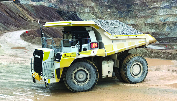 Liebherr Completes Field Tests for T236 Hauler