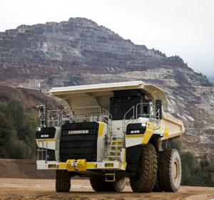 Liebherr T 236 mining truck