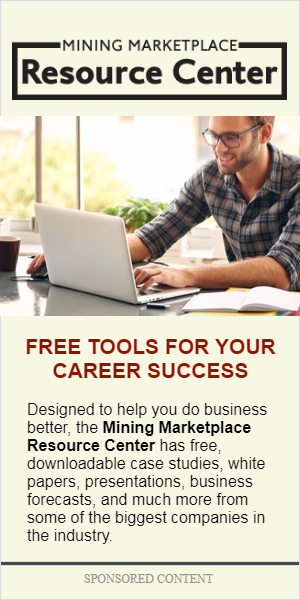 Mining Marketplace Resource Center Ad