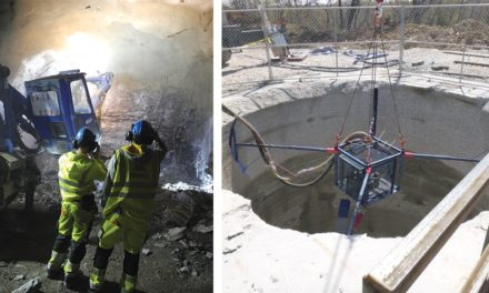 Better Shotcrete Mixtures and Robotics Allow Rapid Development